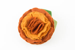 Orange Dog Collar Flower