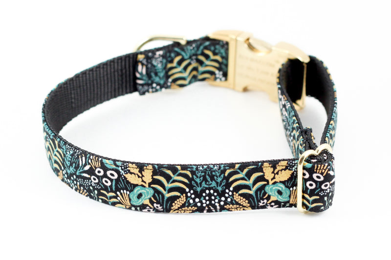 Tapestry Black Gold Collar