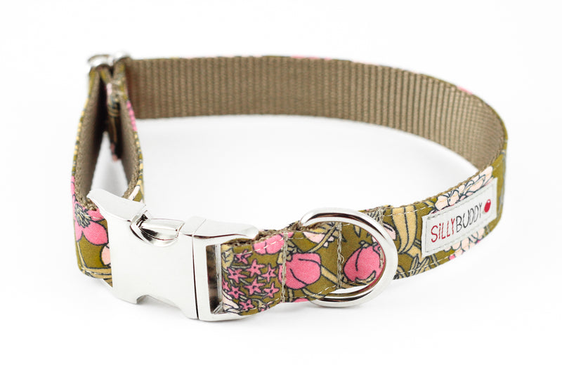 Ochre Floral Flower Collar