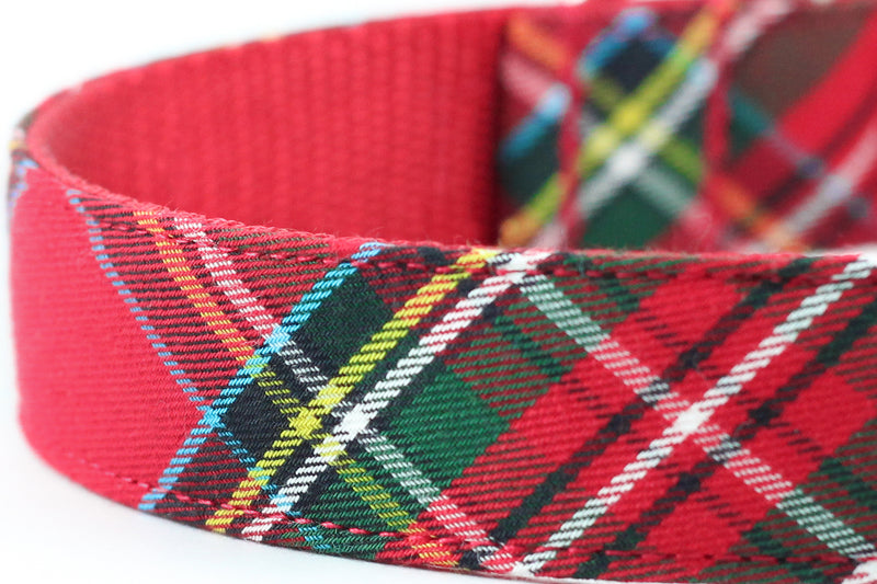 Red Tartan Leash