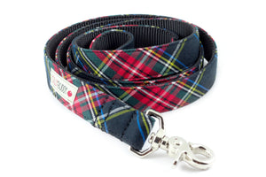 Black Tartan Leash