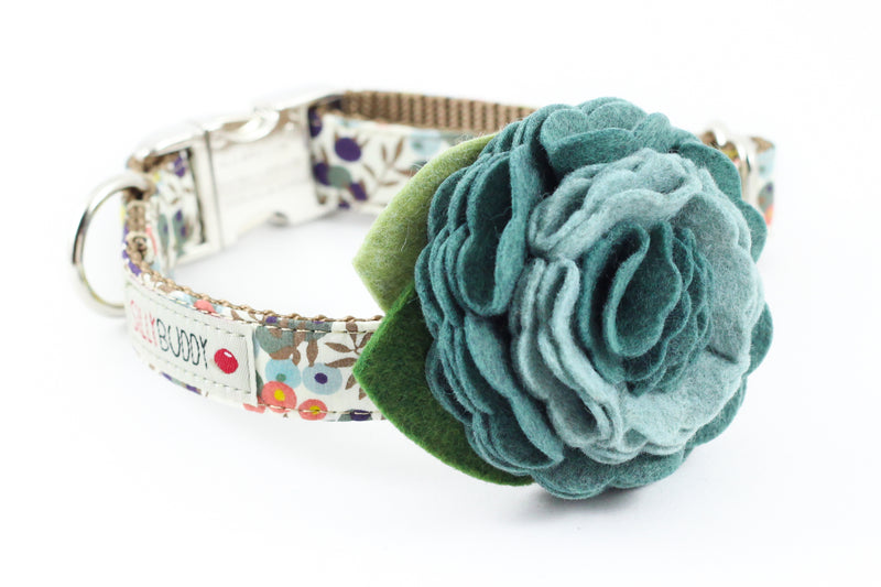 Wiltshire Sage Berry Flower Collar