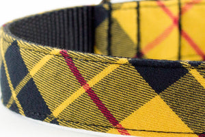 Mustard Plaid Leash
