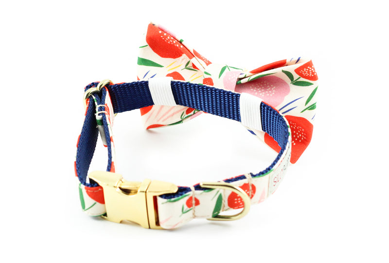 Poppy Bowtie Collar