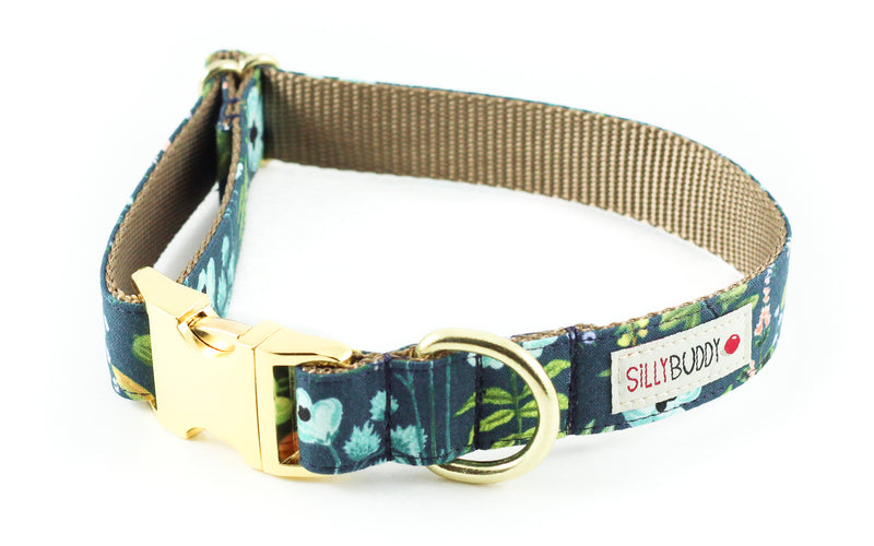 Herb Garden Navy Collar