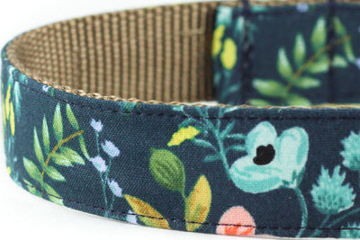 Herb Garden Navy Leash