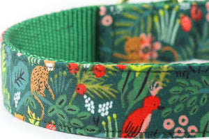 Jungle Bowtie Collar