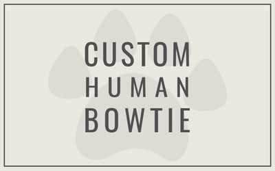 Custom Bowtie for Human