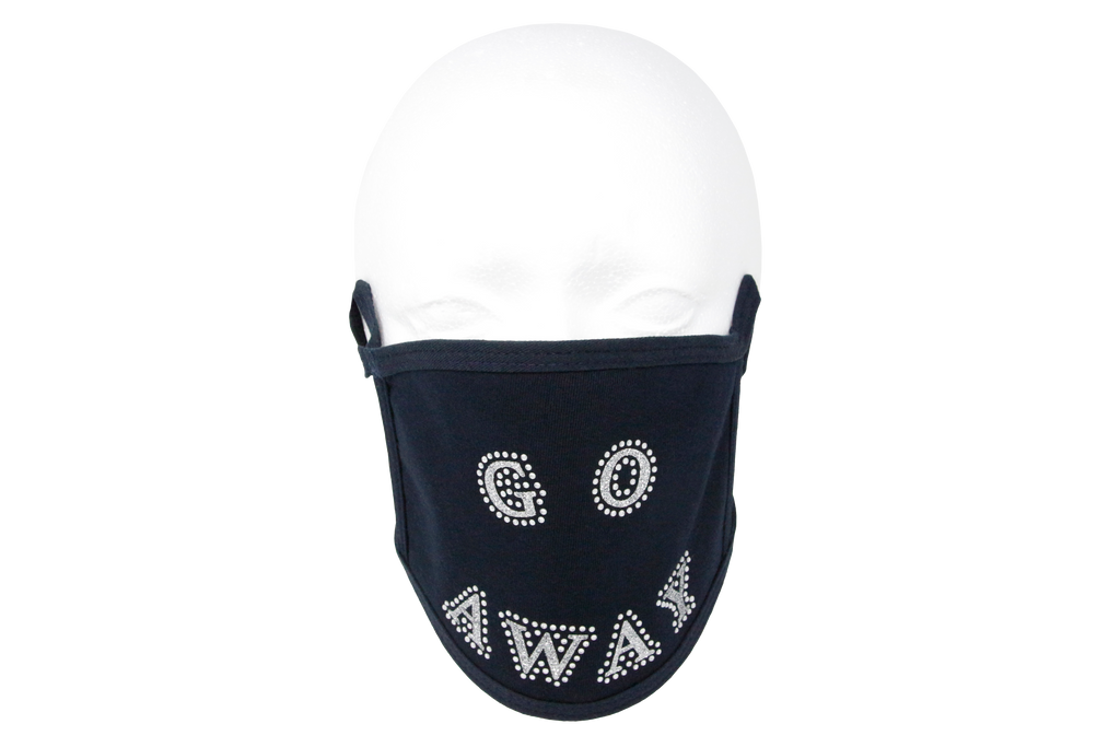 Navy Mask with Go Away