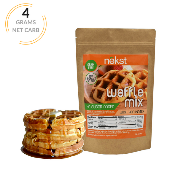 Grain Free Waffle Mix, Just Add Water!