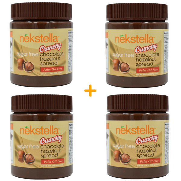 Crunchy Chocolate Hazelnut Spread (4pk) - 11.6 oz