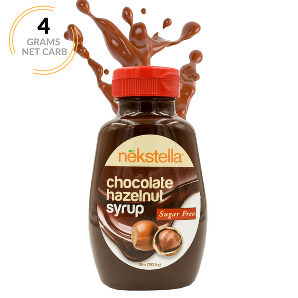 Sugar Free Chocolate Hazelnut Syrup - 10.6 oz