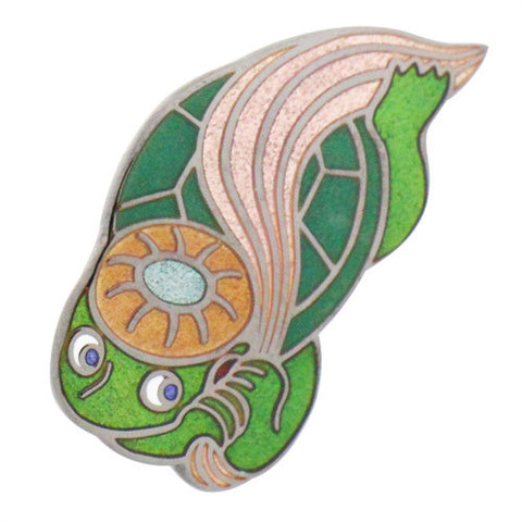 "Kappa ""Yokai"" Lapel Pins - Ancient Japanese Yokai ( Japanese Ghost)"
