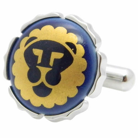 Royal Copenhagen Golden Lion Cufflinks