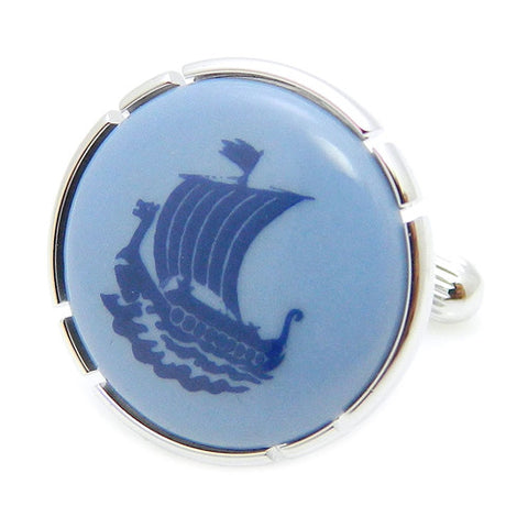 Royal Copenhagen Ship CufflinksRoyal Copenhagen meets Tokyo cufflinks Royal Copenhagen – Purveyor to Her Majesty the Queen of Denmark since 1775. Manufacturer of hand-painted porcelain in dinnerware, figurines, collectibles. These Cufflinks are hand made in Japan from high-quality sturdy rhodium. The cufflinks will come in a beautiful cufflink box.