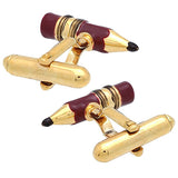 Wine Pencil Cufflinks