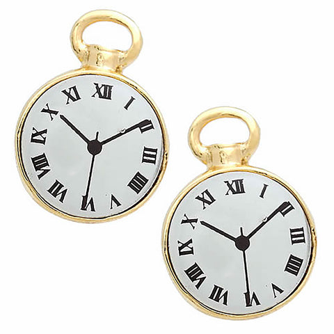 Gold Watch Cufflinks
