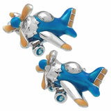 Propeller Plane cufflinks. Wear your Propeller Plane cufflink by Tokyo Cufflinks. They also are perfect gifts for groomsmen, friends, and husbands! These Cufflinks are hand made in Japan from high-quality sturdy rhodium. The cufflinks will come in a beautiful cufflink box.