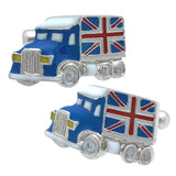 British Flag Car Cufflink
