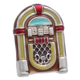 Yellow Jukebox Lapel Lapel Pin