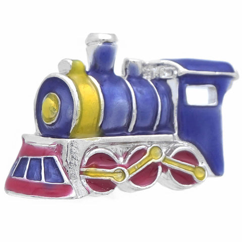 "It is a cute Purple Train Lapel Pin. Buy Train Pins on the website and get delivered in a beautiful box. Size: Approximately 5/8"" x 13/16"" inch. Material: Tin alloy / Western white / Rhodium plating / Epoxy resin. Color: Silver, Yellow, Purple & Red. Model: P0122"