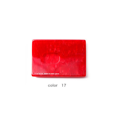 Red Handade Card Case