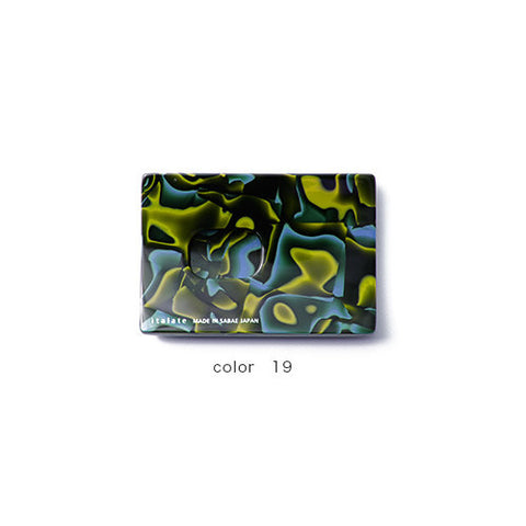 Green & Blue Handade Card Case