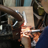 Kisso Marble Blue Handade Cufflinks