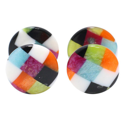 Kisso Multi Color Handade Cufflinks