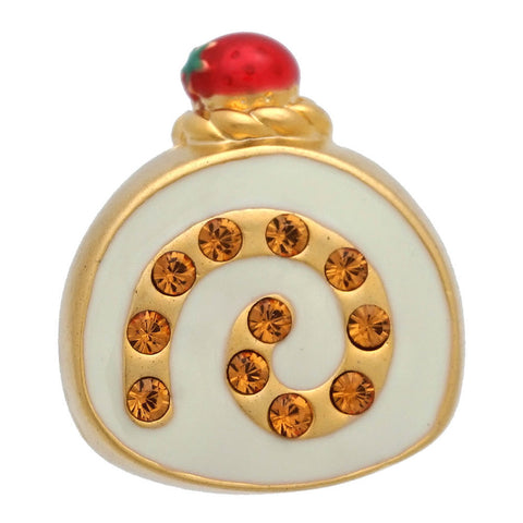 Roll Cake Lapel Pin