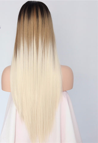 Ombre Hair Wigs Tagged Platinum Blonde Even Love Flows