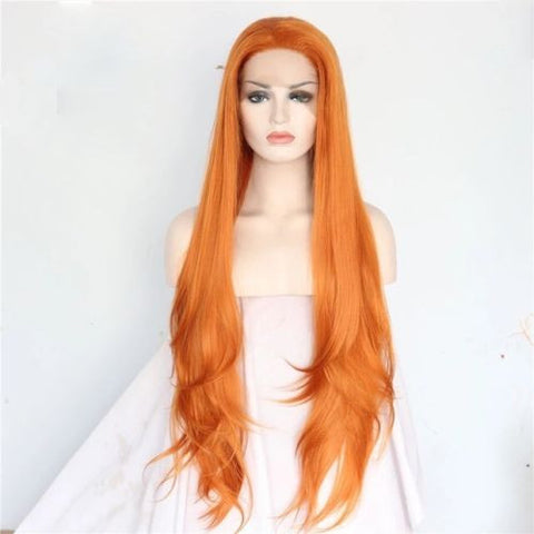 Red Hair Wigs Even Love Flows