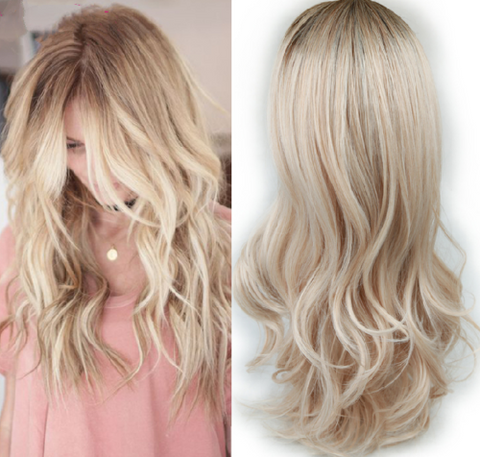 ombre hair wigs tagged two tone even love flows