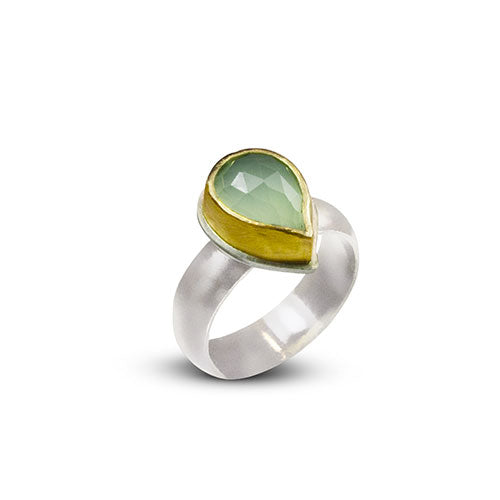 Nancy Troske Jewelry - 22K Gold and Silver Ring