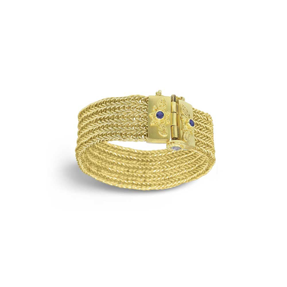 Ancient Weave Bracelet - Nancy Troske Jewelry