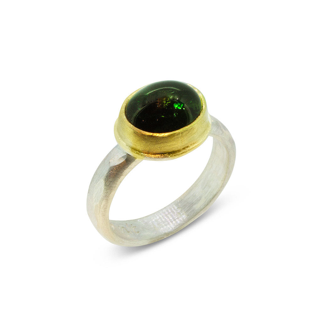 Nancy Troske Jewelry - Green Tourmaline Ring