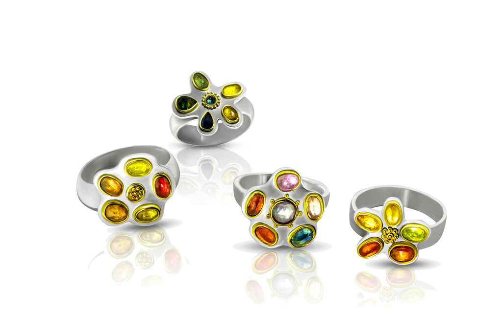Jewel Box Rings - Nancy Troske Jewelry