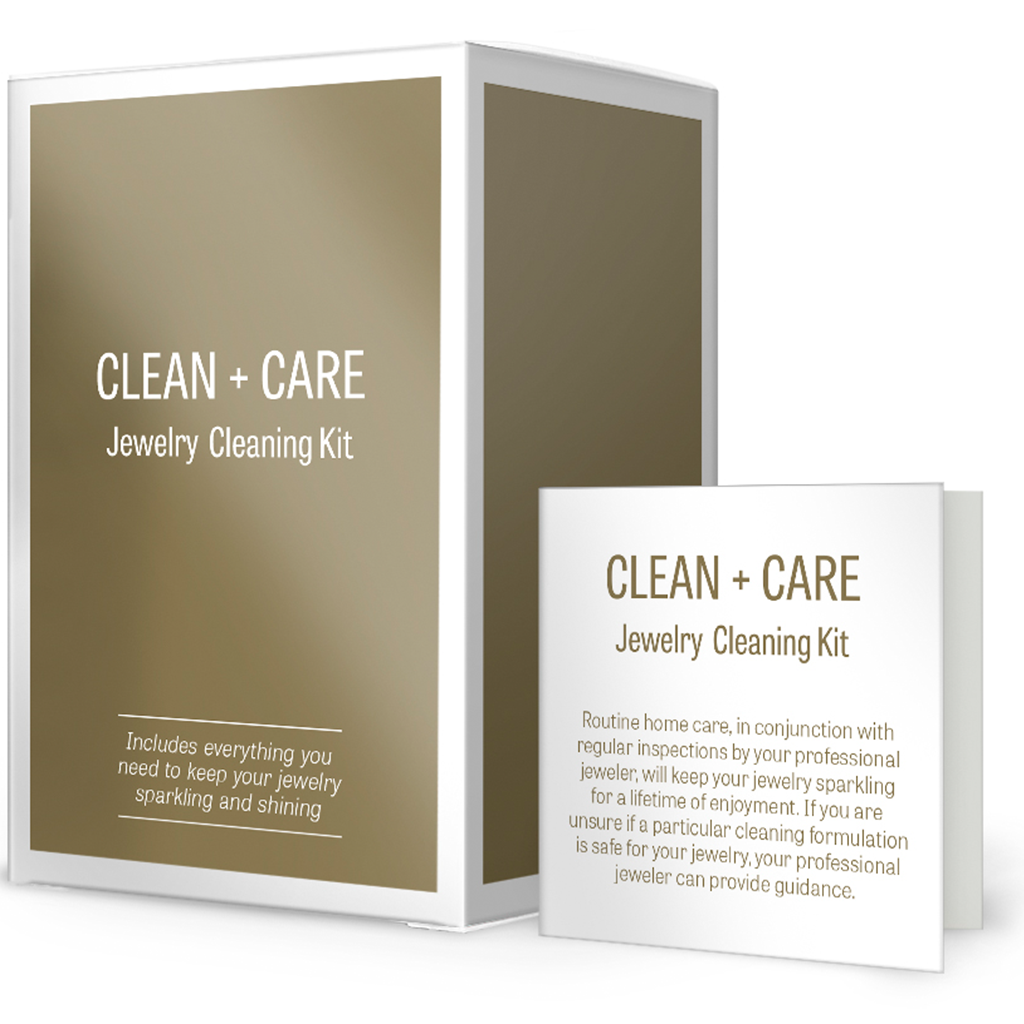 Specially Formulated, Custom Gentle Jewelry Cleaning Kit