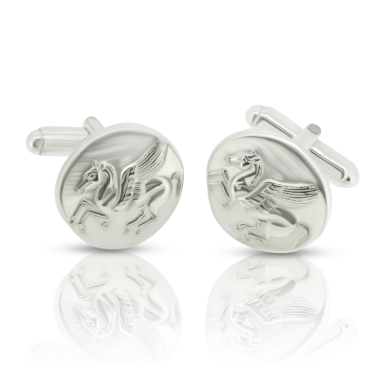Pegasus Cuff Links - Nancy Troske Jewelry
