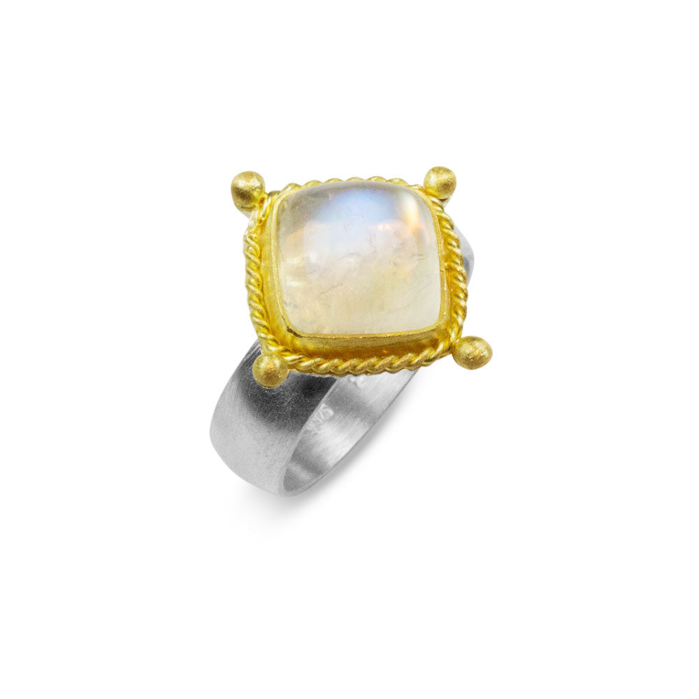 Medici Moonstone Ring
