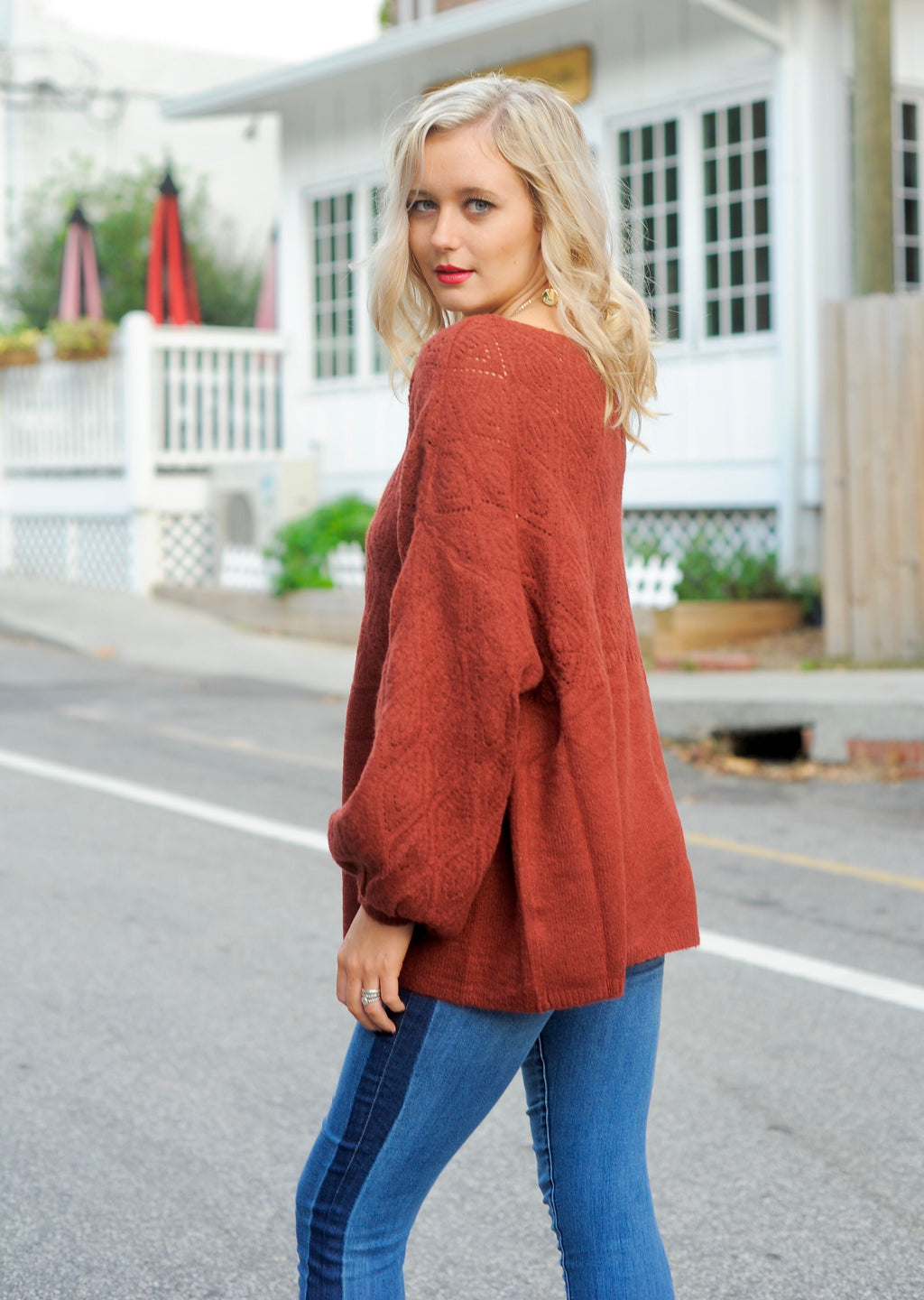 Josephine Balloon Sleeve Sweater
