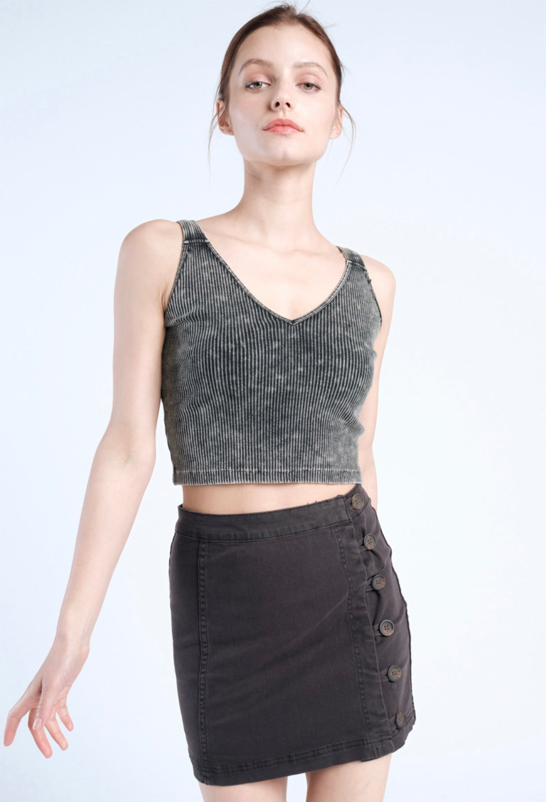 Basic Vintage Crop Top