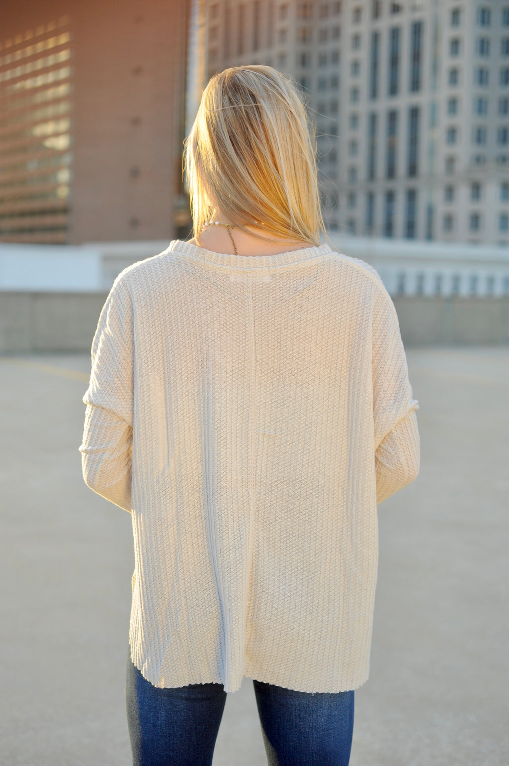 Basic Thermal Top - Off White