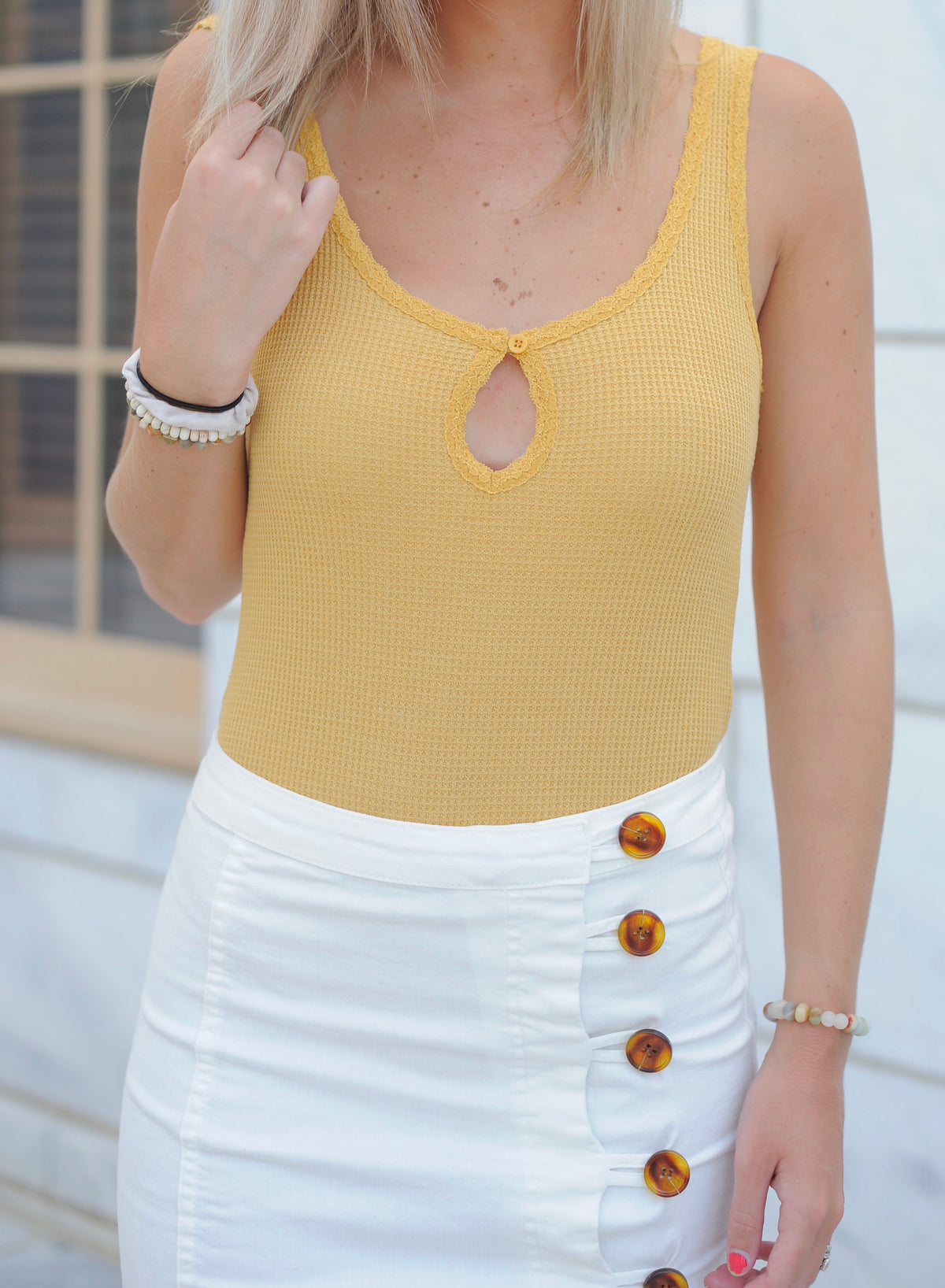 Simple Keyhole Bodysuit