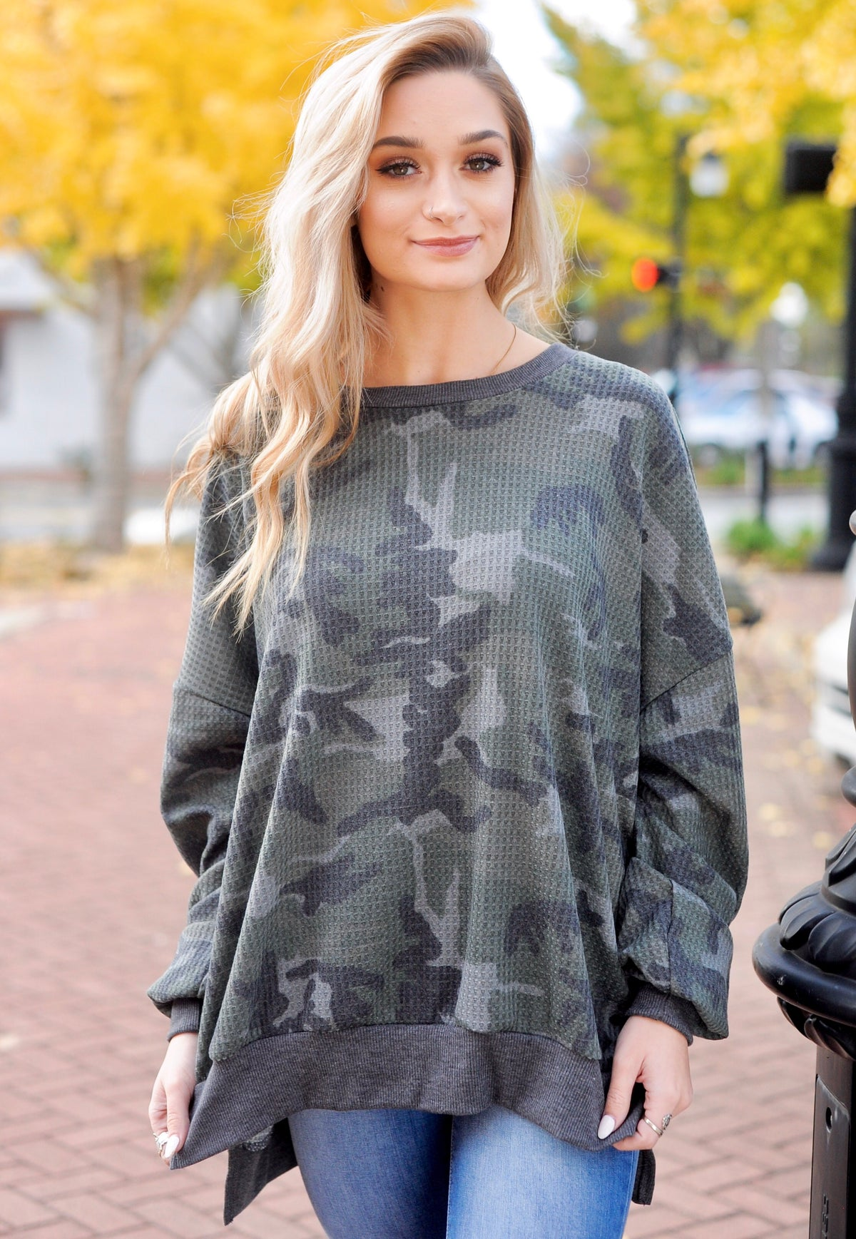 Hi-Low Camo Thermal Top