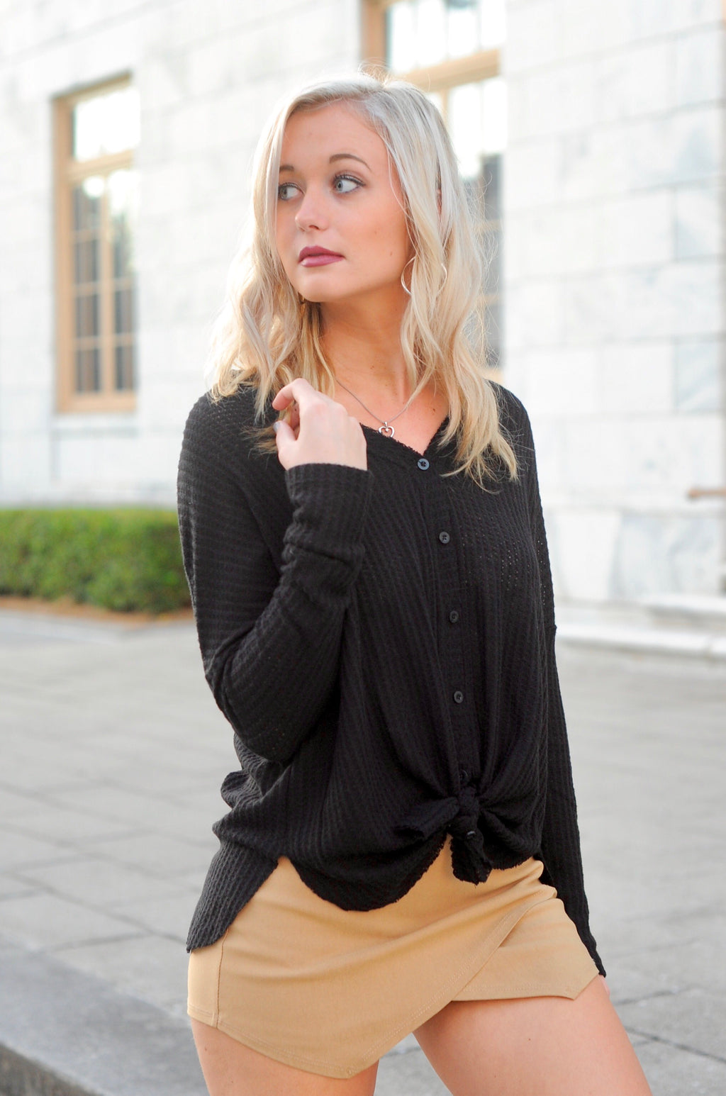 Basic Thermal Top- Black