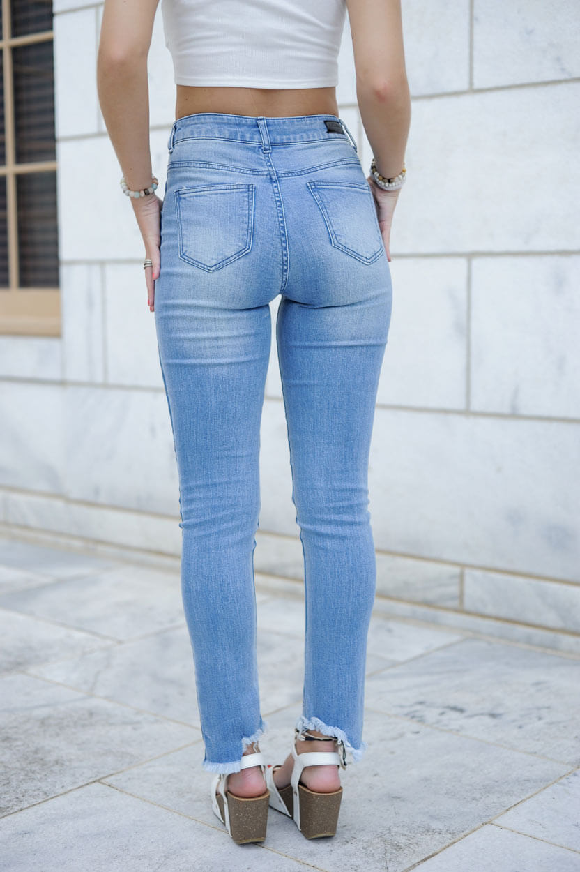 Lexi Two Toned Skinnies
