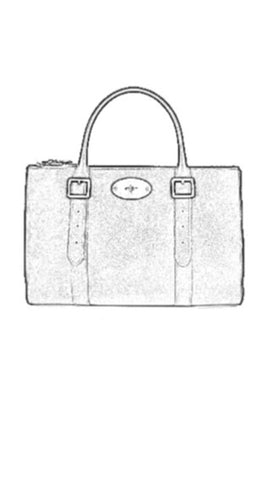 Double Zipped Tote