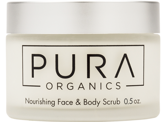 Nourishing Face & Body Scrub Trial Size