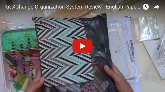 Kit XChange Organization System Review - English Paper Piecing Organization